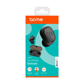 Слушалки bluetooth Acme BH411, In-ear, Black